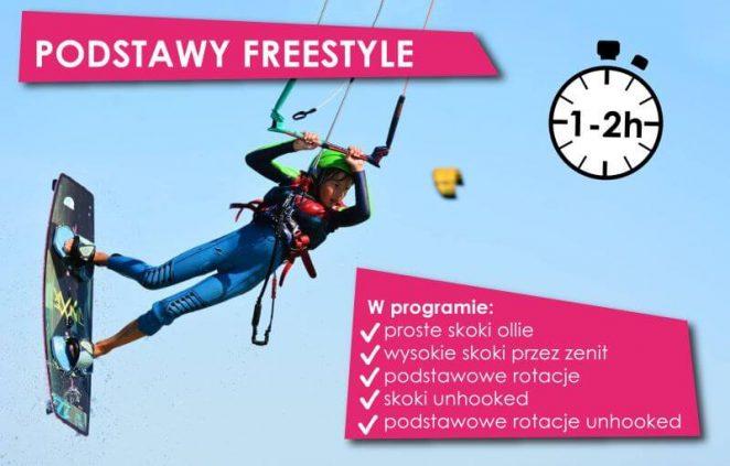 podstawy freestyle kiteboard