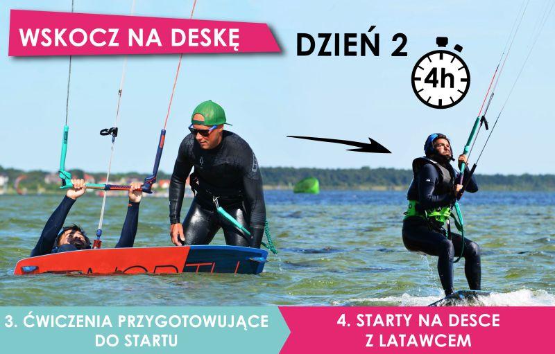 nauka kitesurfingu IKO II