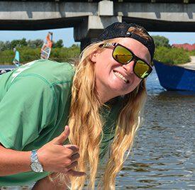 Agata - instruktor windsurfingu