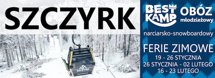 obóz zimowy w Szczyrku 2019