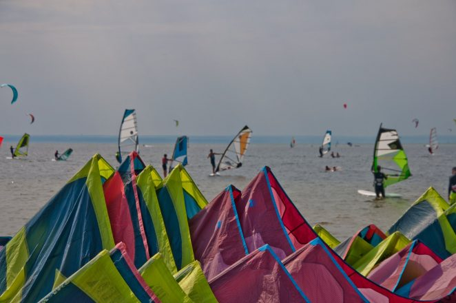 nauka kitesurfingu i windsurfingu w Jastarni